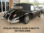 STOLEN JAGUAR XK 150 DROPHEAD COUPE MAASTRICHT, NETHERLANDS on OCTOBER 4/2009