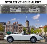 STOLEN VEHICLE ALERT! XK 150S OTS NETHERLANDS IN 2001